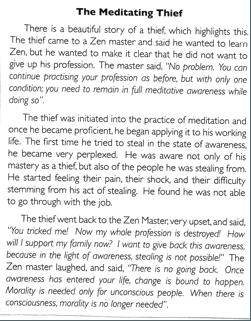 27 - The Meditating Thief