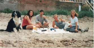 44a - Bracken on beach