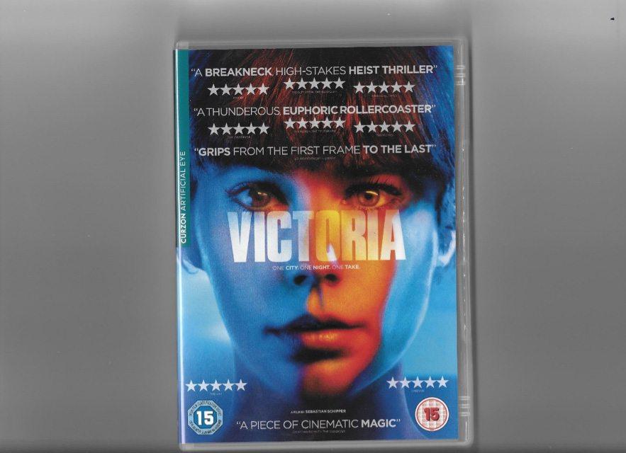 victoria, dvd cover